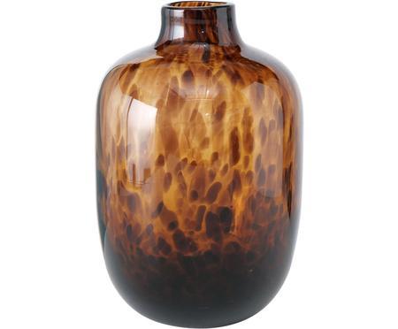 Sklenená váza Leopard