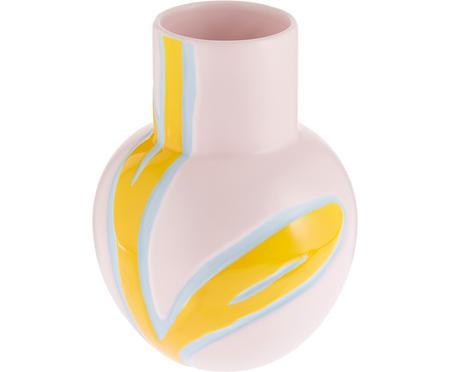 Ručne vyrobená dizajnová váza Fiora