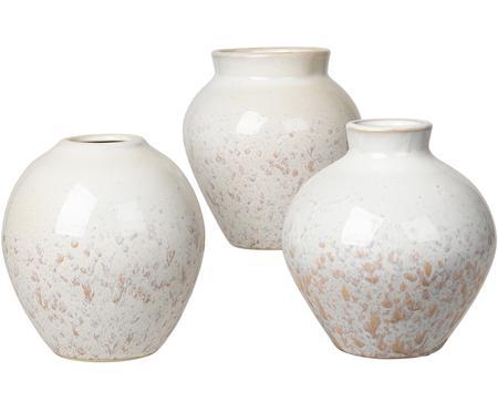 Súprava váz z keramiky Ingrid, 3 diely