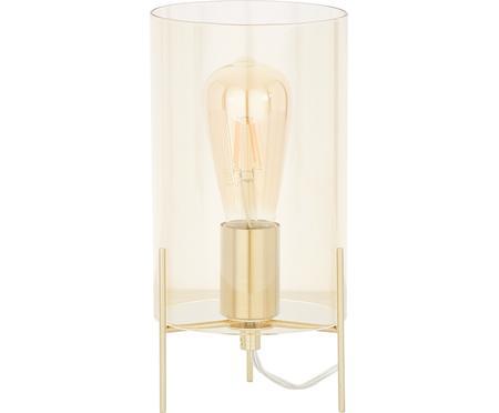 Malá stolová lampa z farbeného skla Laurel