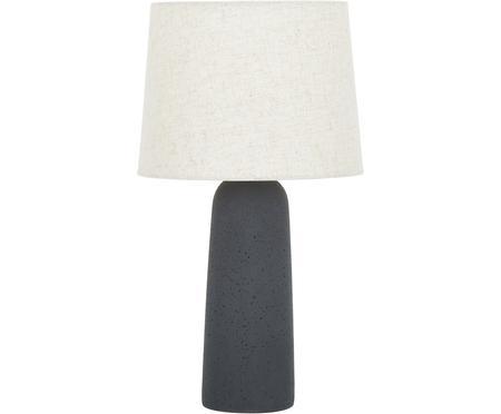 Veľká stolová lampa s betónovým podstavcom Kaya