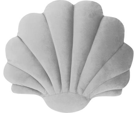 Zamatový vankúš v tvare mušle Shell