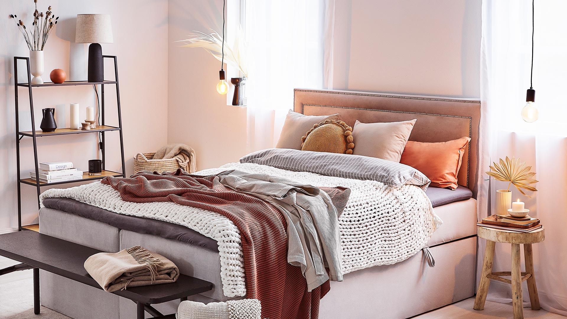Útulná spálňa