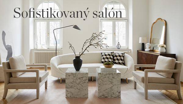 Sofistikovaný salón