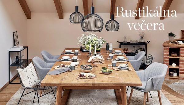 Rustikálna večera